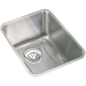"Elkay Lustertone Classic Stainless Steel, 16-1/2"" x 20-1/2"" x 9-7/8"", Single Bowl Undermount Sink Kit"
