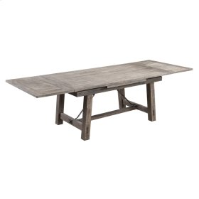 Refectory Trestle Dining Table-reclaimed Pine Finish