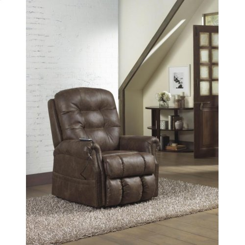 Pwr Lift Lay Flat Recliner w/ Heat & Massage