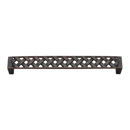 Lattice Pull 6 5/16 Inch (c-c) - Venetian Bronze