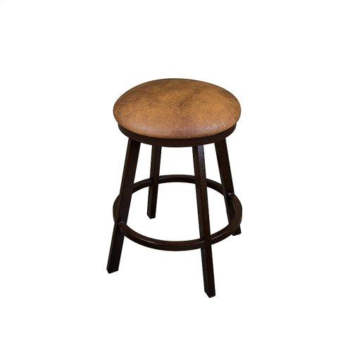 Miami B505H26BS Backless Swivel Bar Stool