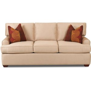 Klaussner Three Cushion Sofa
