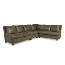 Catalina Left Arm Facing Loveseat (Leather)