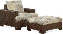 Bali Chair and Ottoman