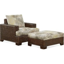 Bali Chair and Ottoman
