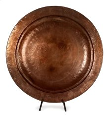 Copper Plated Charger with Stand