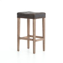 Bar Stool Size Destroyed Black Cover Whitewash Finish Sean Bar + Counter Stool