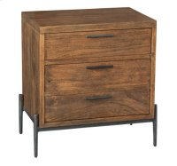Bedford Park Three Drawer Night Stand Product Image