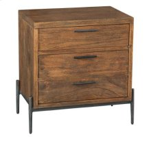 Bedford Park Three Drawer Night Stand