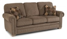 Harrison Fabric Sofa with Nailhead Trim