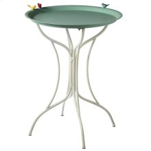Bistro Table with Birds