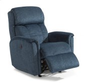 Luna Fabric Power Rocking Recliner