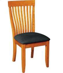Monterey Side Chair w/ Leather Seat