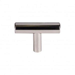 Hopewell T-Handle 2 Inch - Polished Nickel