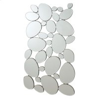 Transitional Stone Shape Collage Mirror Product Image