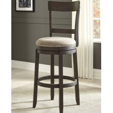 UPHOLSTERED SWIVEL BARSTOOL