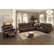 POWER Double Reclining Love Seat with Center Console Product Image