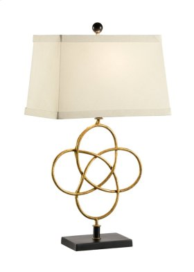Loose Knot Lamp - Gold