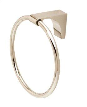 Luna Towel Ring A6840 - Polished Nickel