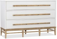 Urban Elevation Three-Drawer Bachelors Chest