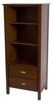 Yukon 2 Drawer Tower With Two Adjustable Shelves Product Image