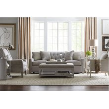 Tufted Sofa with Pewter Nailhead Trim