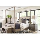 Upholstered Poster Bed, King 6/6 Product Image