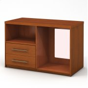 Microfridge 2 Drawer Chest Combo Right Product Image