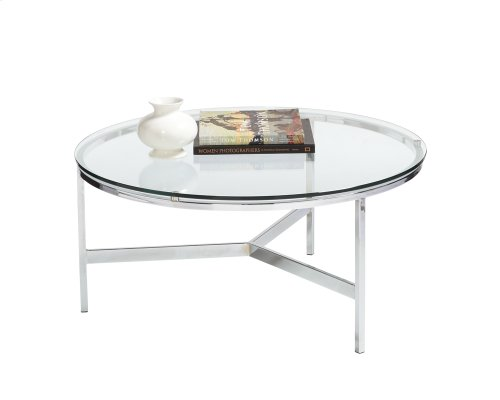 Flato Coffee Table - Stainless Steel