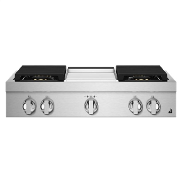"Jenn-Air NOIR 36"" Gas Rangetop"