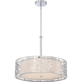 Abode Pendant in Polished Chrome