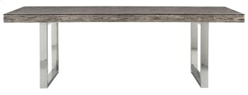 """Henley Dining Table (84"""") in Gray Pearl Product Image"""