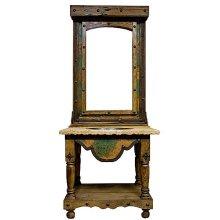 3PC Copper Vanity W/ Mirror
