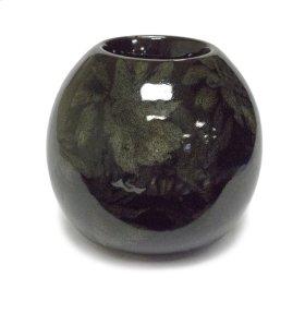 Orb Candle Holder, Black