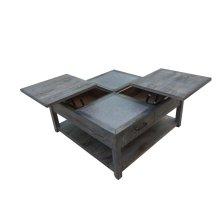 Rustic Nutmeg Rectangular Coffee Table