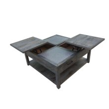Rustic Nutmeg Rectangular Coffee Table