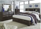 King Storage Bed, Dresser & Mirror, Chest Product Image