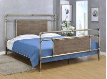 Elkton Bed - King, Antique Brass Finish