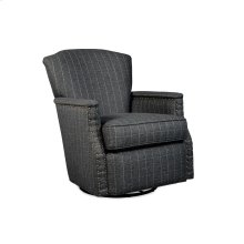 Cap Arm Swivel Glider with Nail Head Trim