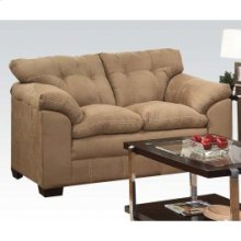 Simmons Latte Loveseat