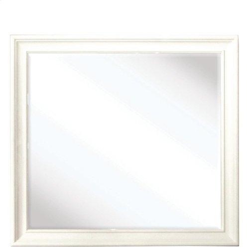 Myra - Shadowbox Mirror - Paperwhite Finish