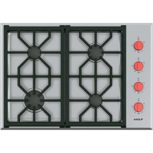 "Wolf30"" Professional Gas Cooktop - 4 Burners"