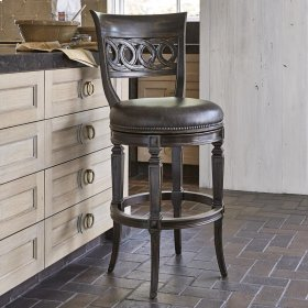 Rochelle Swivel Counter Stool - Armless