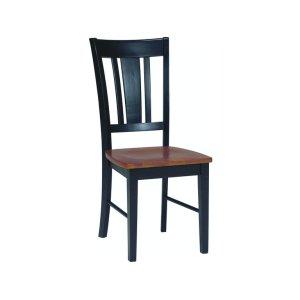 JOHN THOMAS FURNITURESan Remo Chair in Black & Cherry