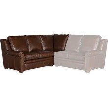 Bradington Young Reece LAF Corner Return Sofa 8-Way Tie 202-93