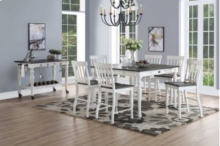 Joanna Two Tone Counter Table Set