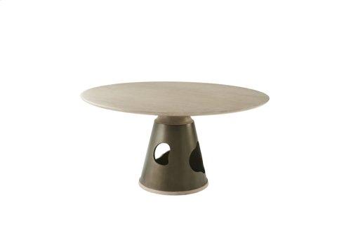 Flint Dining Table - Sandalwood Oak