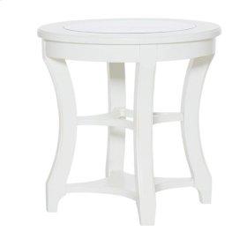 Lynn Haven Round End Table-Kd