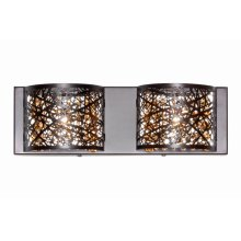 Inca 2-Light Wall Mount W/LED Bulb