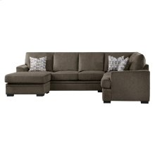2-Piece Reversible Sectional with Chaise